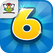 6 Numbers by Brainbow Icon