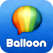 Balloon  messenger  -Voice messages,Texts,Emoji,Photos and Videos. Icon