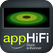 appHiFi Dock Enhancer Icon