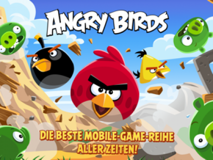 Screenshot von Angry Birds