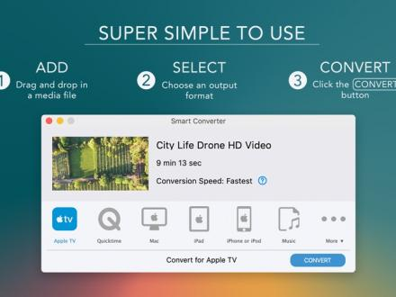 Screenshot von Smart Converter
