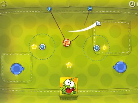 Screenshot von Cut the Rope