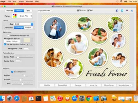 Screenshot von TurboCollage - Collage Creator