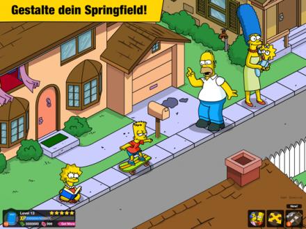 Screenshot von Die Simpsons™: Springfield