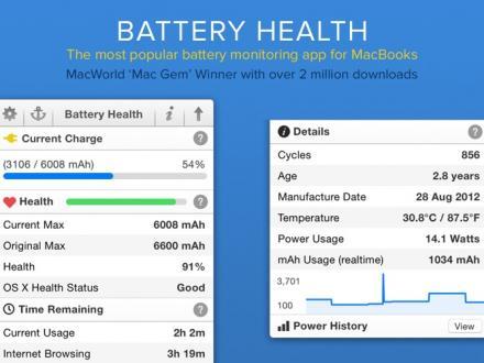 Screenshot von Battery Health