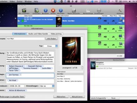 Screenshot von iVI