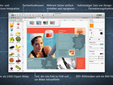 Screenshot von Swift Publisher 3