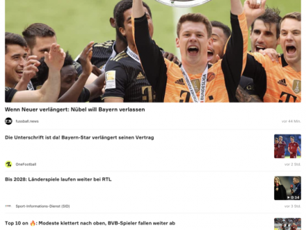 Screenshot von Onefootball - mit UEFA EURO 2016 adidas experience - Fußball News, EM 2016 Spielplan, Ergebnisse & Liveticker für die Europameisterschaft in Frankre