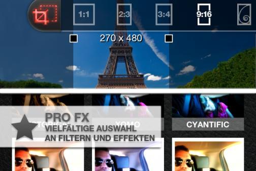 Screenshot von ProCamera