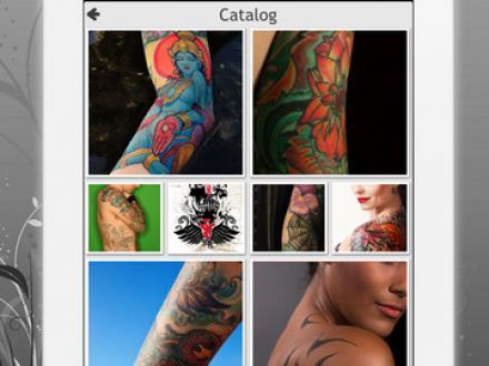 Screenshot von HD Tattoo Designs Catalog