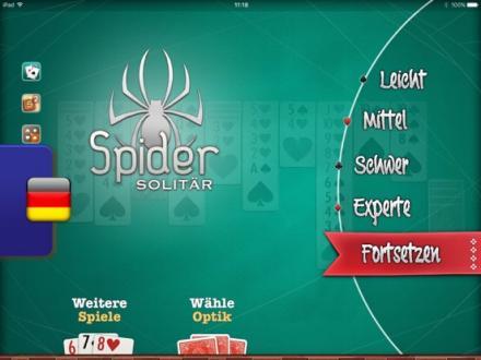 Screenshot von ⓈⓟⒾⒹⒺⓇ Solitär