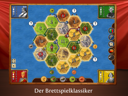 Screenshot von Catan HD