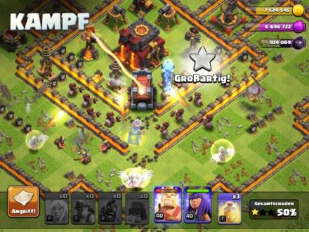 Screenshot von Clash of Clans