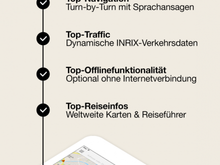 Screenshot von GPS Navigation by Scout (Navi und Blitzerwarner)