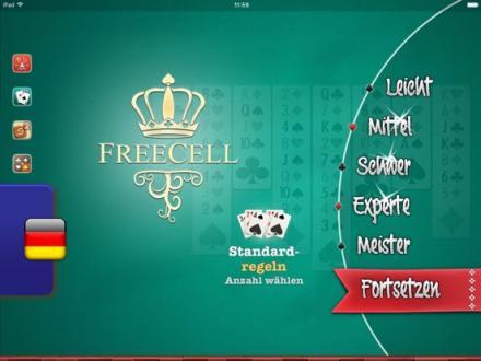 Screenshot von ⒻⓇⒺⒺⒸⒺⓁⓁ Solitär