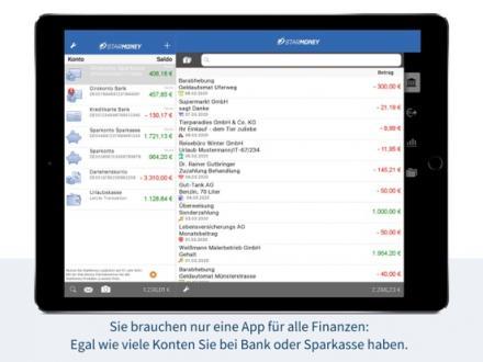Screenshot von StarMoney - Mobile Banking für Banken und Sparkassen