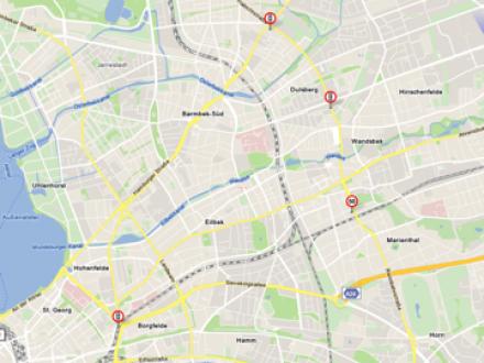Screenshot von Blitzer.de MAP