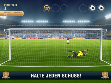 Screenshot von Flick Kick Goalkeeper