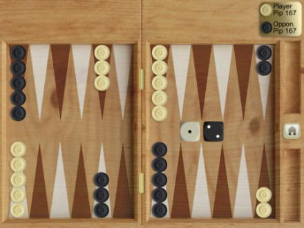 Screenshot von iBackgammon!