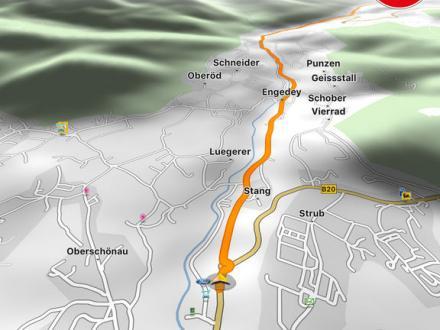 Screenshot von NAVIGON select Telekom Edition