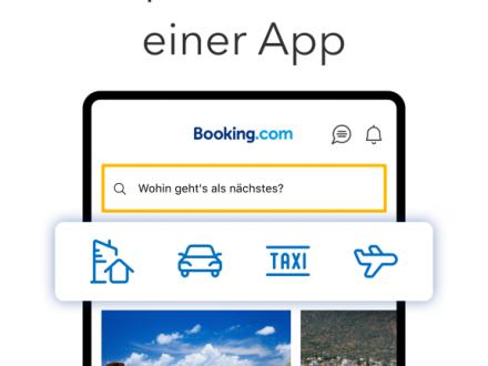 Screenshot von Booking.com Hotelreservierungen & Deals weltweit
