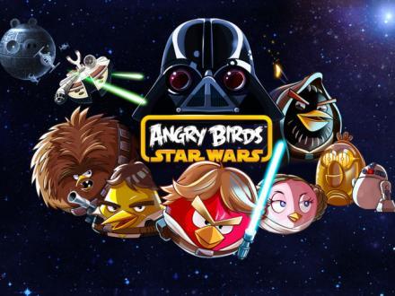 Screenshot von Angry Birds Star Wars