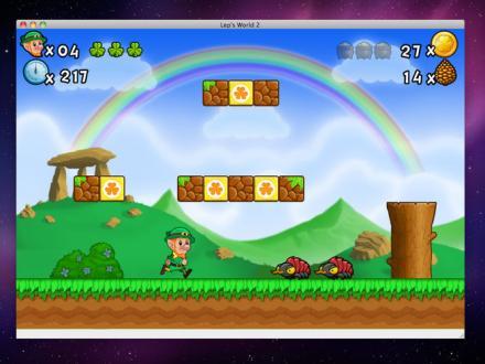 Screenshot von Lep's World 2