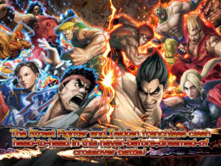 Screenshot von STREET FIGHTER X TEKKEN MOBILE