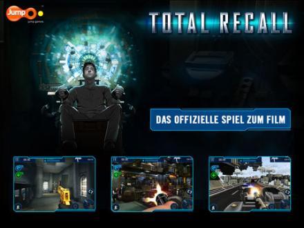 Screenshot von Total Recall Game