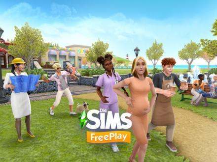 Screenshot von Die Sims™  FreePlay