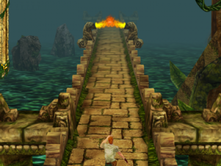 Screenshot von Temple Run