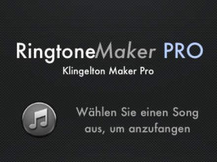 Screenshot von Klingelton Maker Pro (Ringtone Maker Pro) - Erstellen Sie Klingeltöne aus Ihrer Musik!