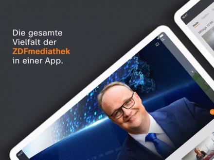 Screenshot von ZDFmediathek