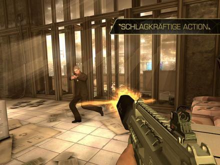 Screenshot von Deus Ex: The Fall