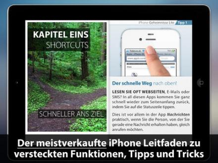 Screenshot von Tipps & Tricks - Geheimnisse (Kostenlose LITE Ausgabe)
