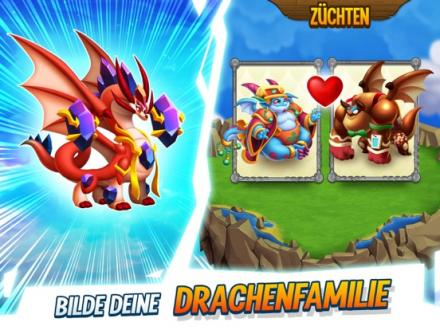 Screenshot von Dragon City Mobile