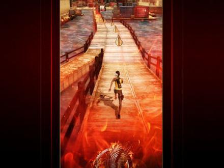 Screenshot von Hunger Games: Catching Fire - Panem Run
