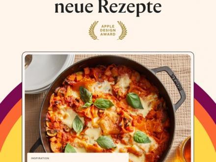 Screenshot von Kitchen Stories Kochbuch – Videos und Fotoanleitungen für alltagstaugliche Rezepte - einfach lecker kochen!