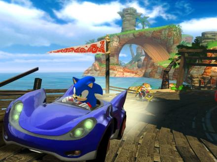 Screenshot von Sonic & SEGA All-Stars Racing