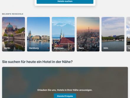 Screenshot von trivago – Die Hotelsuche