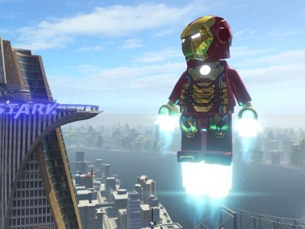Screenshot von LEGO Marvel Super Heroes