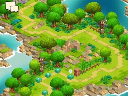 Screenshot von Ruzzle Adventure
