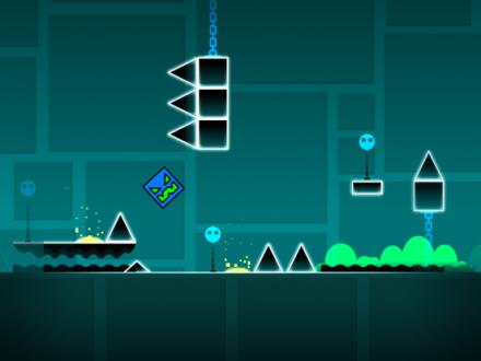 Screenshot von Geometry Dash Lite