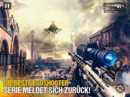 Screenshot von Modern Combat 5: Blackout