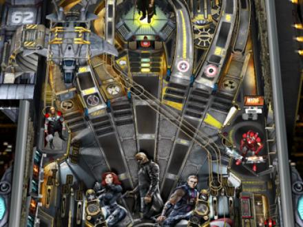 Screenshot von Marvel Pinball