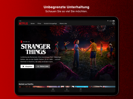 Screenshot von Netflix