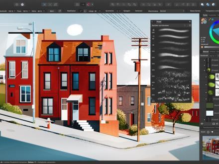 Screenshot von Affinity Designer