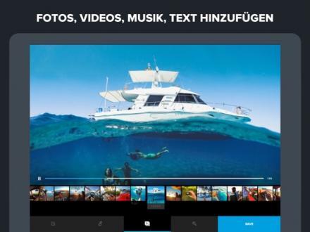 Screenshot von Replay Video Editor