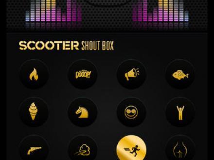 Screenshot von Scooter Shoutbox