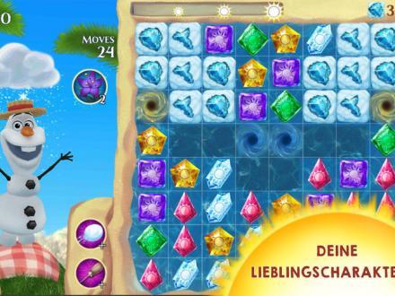 Screenshot von Die Eiskönigin Free Fall
